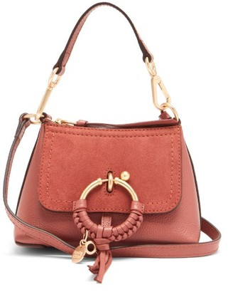 See by Chloe Joan Mini Leather And Suede Cross-body Bag - Brown