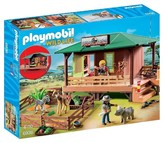 Playmobil Ranger Station with Animal Area Playset
