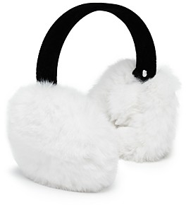 Aqua Girls' Faux Fur Earmuffs - 100% Exclusive