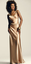 Beaded Golddust Column Gowns by Faviana