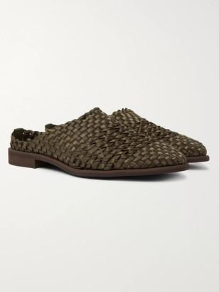 Hender Scheme Woven Nylon Sandals