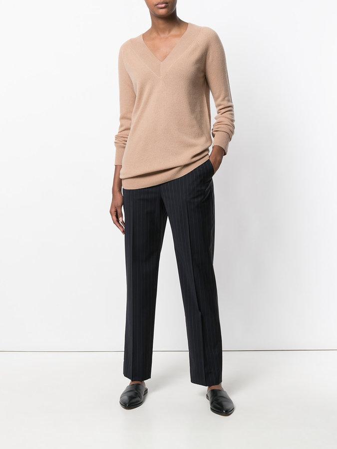 Equipment V-neck cashmere jumper