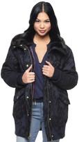 Juicy Couture Bonded Boucle Lace Coat