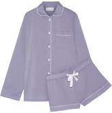 Three J NYC Phoebe Cotton-poplin Pajama Set - Lavender