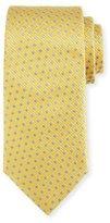 Ermenegildo Zegna Neat Boxes Silk Tie