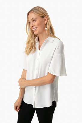 Tuckernuck Off White Limerick Blouse