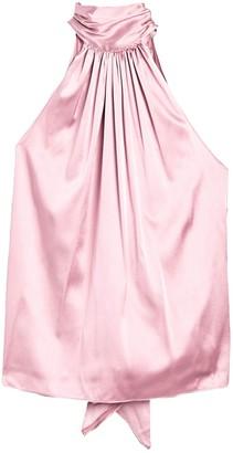 Ramy Brook Lori Tie Back Silk Blend Top