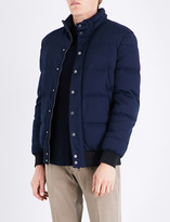 Armani Collezioni Padded feather-down quilted jacket