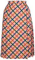 Yves Saint Laurent Vintage Criss-cross skirt