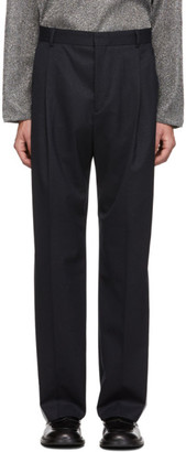 Hope Navy Stripe Well Trousers