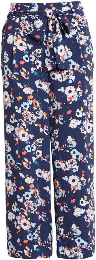 Halogen Wide Leg Crop Pants