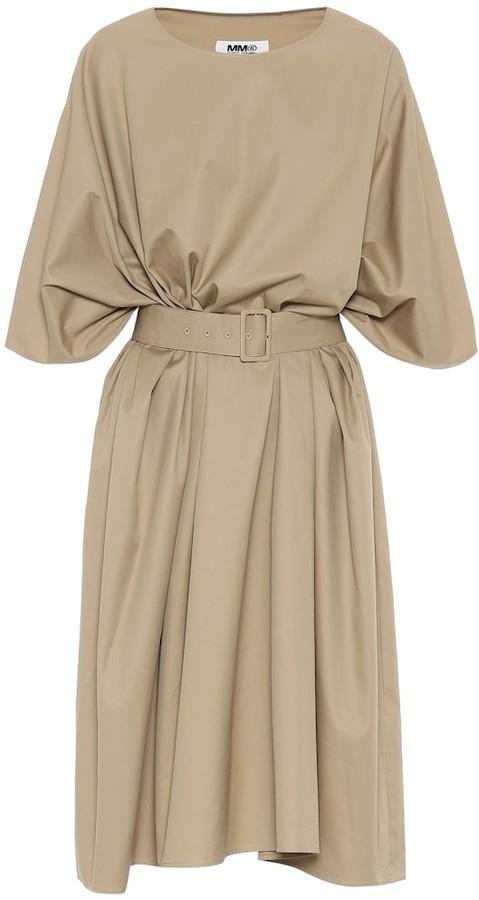 MM6 MAISON MARGIELA Cotton midi dress