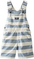 Osh Kosh Striped Shortall (Baby) - Stripe-18 Months by