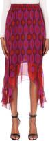 Diane von Furstenberg Petite Louella silk skirt