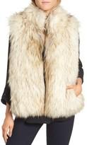 BB Dakota Women's Elvan Open Front Faux Fur Vest