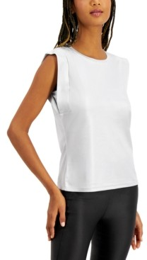 INC International Concepts Inc Boxy Shine T-Shirt, Created for Macy's