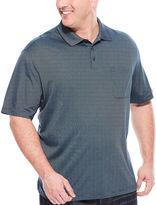 Van Heusen Short-Sleeve Striped Polo - Big & Tall