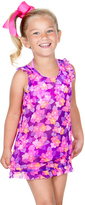 Hula Star Purple Enchanted Garden Cover-Up - Toddler