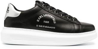 Karl Lagerfeld Paris Rue St-Guillaume wedge sneakers