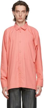 Issey Miyake Pink Flat Shirt