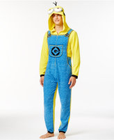 Briefly Stated Despicable Me Minion Hooded One-Piece Pajama Suit