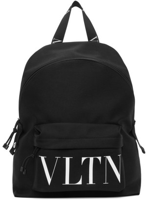 Valentino Black Garavani VLTN Backpack
