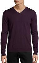 Strellson Milton V-Neck Sweater PURPLE