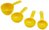 KitchenAid Round Scoop Measuring Cups (Set of 4)