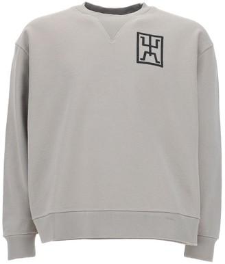 Marcelo Burlon County of Milan Logo Symbol Sweatshirt