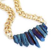 Rocked Up Crystal Quartz Necklace