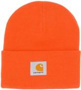 Carhartt Wip cable knit logo beanie