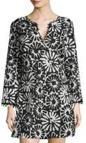 Tory Burch Floral Cotton Tunic
