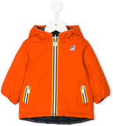 K Way Kids reversible hooded padded jacket