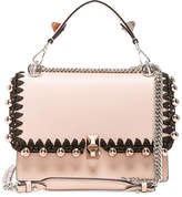 Fendi Ribbon & Pearl Embellished Kan I