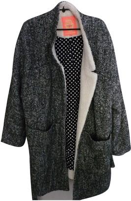 Manoush Black Wool Coats