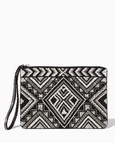 Charming charlie Georgina Beaded Pouch