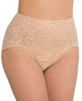 Bali Womens Lace 'N Smooth Firm Control Brief Style-8L14