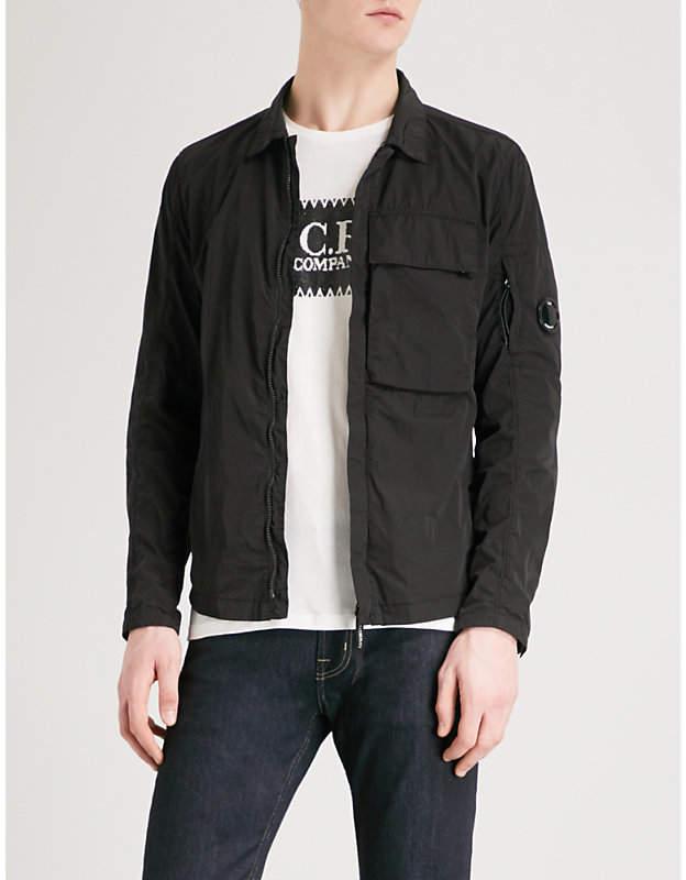 C.P. Company Zip-up shell overshirt