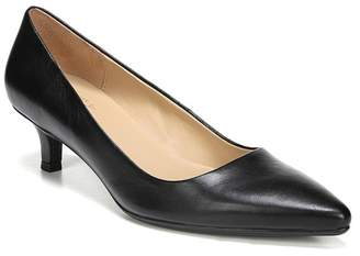Naturalizer Gia Leather Kitten Heel Pump - Wide Width Available