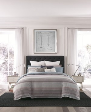 Tommy Hilfiger Alexander Stripe Reversible 2-Pc. Twin Comforter Set Bedding
