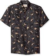Margaritaville Men's Short Sleeve Marlin Print Shirt