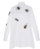 Dice Kayek Embellished Beetle Shirt