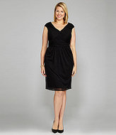 Adrianna Papell Woman Twist-Front Dress