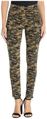 Jag Jeans Marla Pull-On Camo Ponte Leggings (Camouflage) Women's Casual Pants