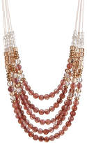 Expression Multi-Row Beaded Necklace