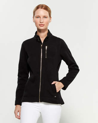 Calvin Klein Full-Zip Sweater Fleece Jacket
