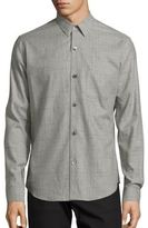 Theory Rammis Valmeyer Plaid Button-Down Shirt