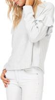 Lush Ruffle Sleeve Sweatshirt