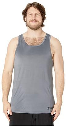 Stacy Adams Big Tall Tank Top (Gray) Men's Clothing