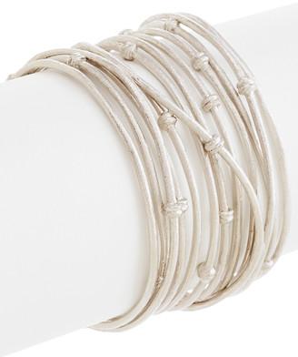 Rivka Friedman White Rhodium Clad Cuff